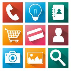 applications menu design