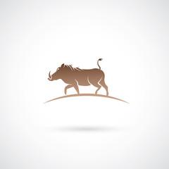 Warthog animal symbol