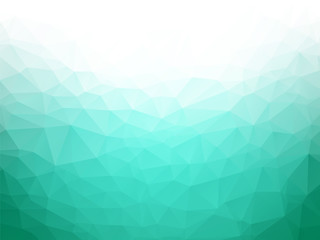 geometric emerald texture background