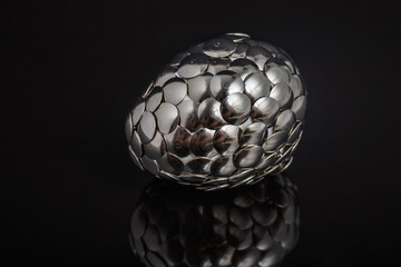 Iron egg basket