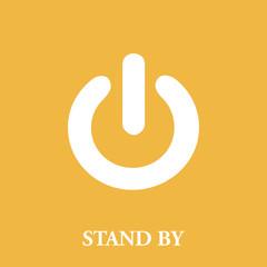 On Off switch icon. Power symbol. Flat design. vector illustration