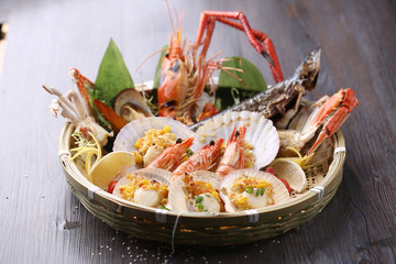 seafood grill platter
