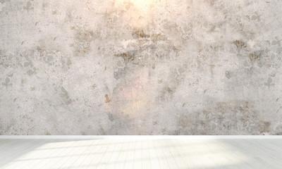 Empty interior . 3D render