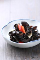 stir fried black fungus