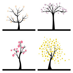 Cute Abstract trees
