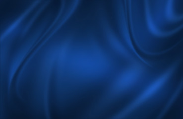 Blue satin cloth background