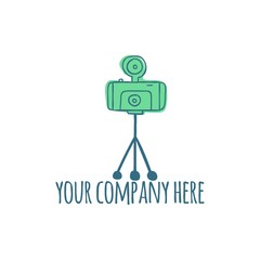 photography vector logo icon