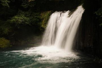 Shokei Waterfall (Kawazu Seven Waterfall), Kawazu-cho, Shizuoka Prefecture, Japan.