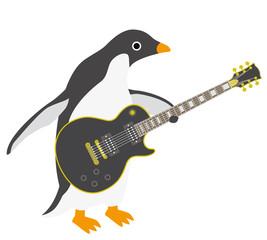 アデリーペンギン ギター
