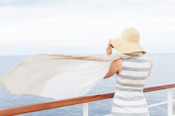woman at cruise