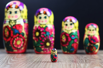 matryoshka different patterns