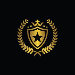 Royal Brand Logo,Crown logo, Crest logo