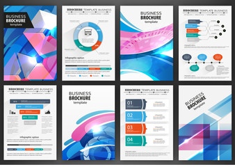 Poster and infographics design