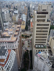 aerial view of sao paulo from the roof of altino arantes building