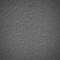 Black color concrete wall texture and background seamless
