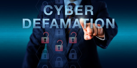 Legal Consultant Touching CYBER DEFAMATION