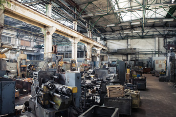 old heavy duty factory