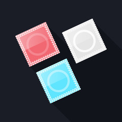 Set of Condom icon