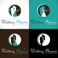 logo mariage couple