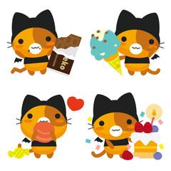 ネコとーく。デビル お菓子