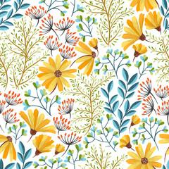 Spring floral pattern
