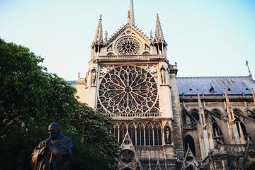 Beautiful old monument of culture in Paris
