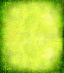 Abstract Background Painted Yellow Green Wall