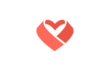 heart love icon logo
