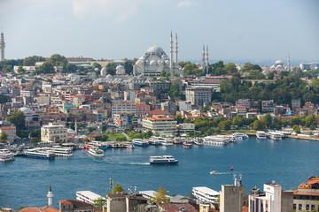 Istanbul Bosporus Türkei Häusermeer III