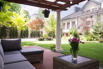 Cozy and elegant terrace