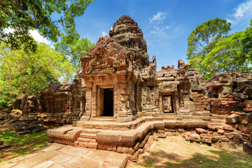 Wall Mural - Gopura of ancient Ta Som temple in Angkor, Siem Reap, Cambodia