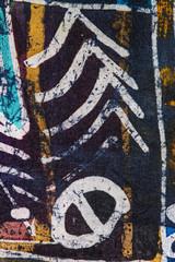 Obraz Abstraction, hot batik, background texture, handmade on silk, abstract surrealism art - fototapety do salonu