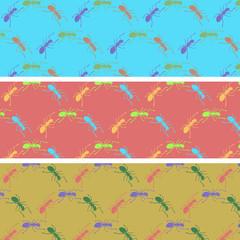 Ants color pattern