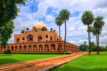 Photo sur Plexiglas Delhi Humayun's tomb in New Delhi, India