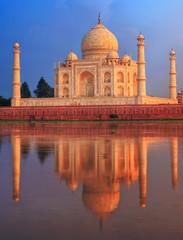 Fotomurales - Taj Mahal mausoleum, Agra, India