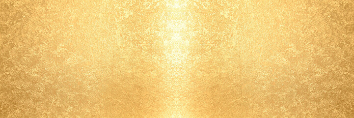 金箔のバナー