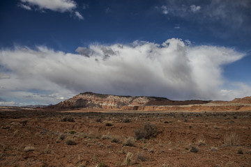 2016-03-17 Clouds over Capital Reef