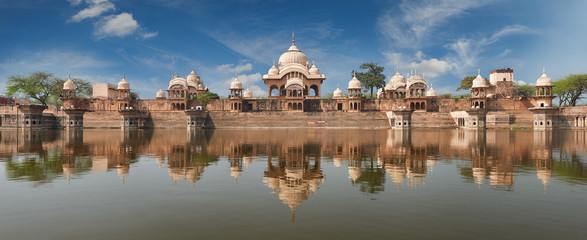 Kusum Sarovar  in Mathura Uttar-Pradesh, India.