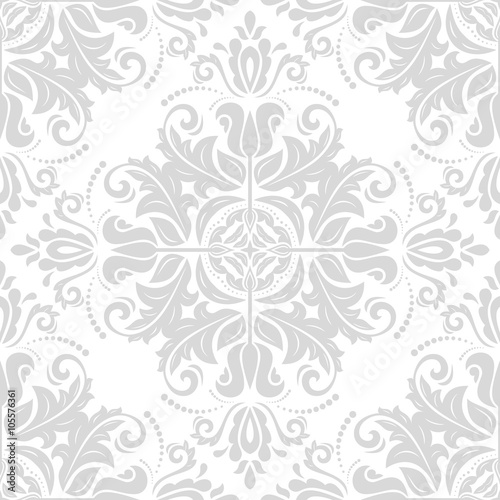 Quot Damask Seamless Ornament Traditional Pattern Classic