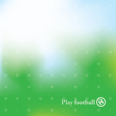 Abstract Football / Soccer Background