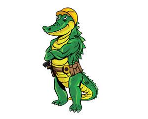 Crocodile - Construction
