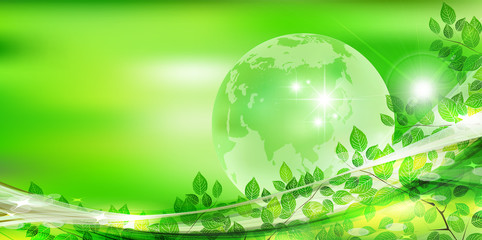 葉 地球 新緑 背景