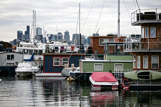 Lake Union scenery – Seattle