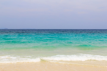 Background of beach in Tachai island, Thailand