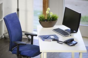 Leeres eingerichtetes modernes Büro