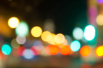 abstract blur bokeh of  light
