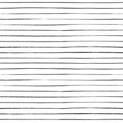 Grungy texture on white background. Hand drawn seamless abstract background for print on fabric or wrapping paper. Parallel stripes handcrafted with ink.