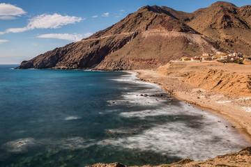 Corralete beach. Natural Park of Cabo de Gata. Spain.