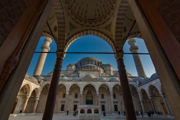 Suleiman Mosque in Istanbul Turkey