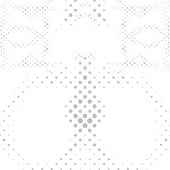 Vector geometric background pattern. Abstract Halftone Pattern B